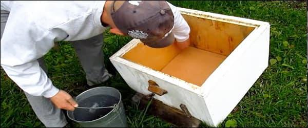 дезинфекция ульев обрабатываем химическим раствором