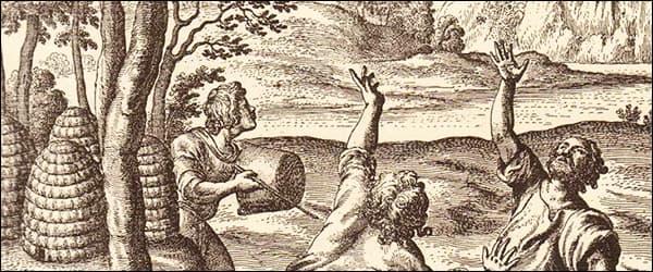 история пчеловодства в древнем мире