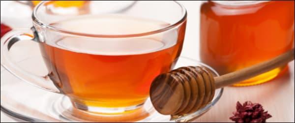 как приготовить чай с медом