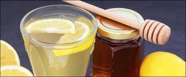 мед натощак с лимоном
