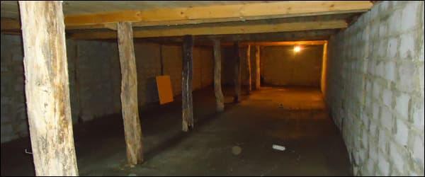 омшаник подземный на 300 семей