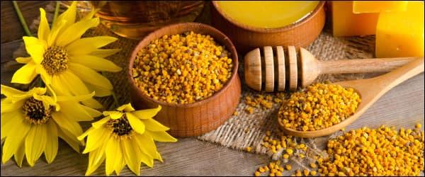 лечение продуктами пчеловодства вместе с пергой
