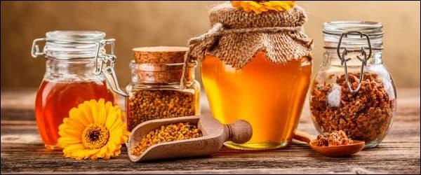 продукты пчеловодства помогают