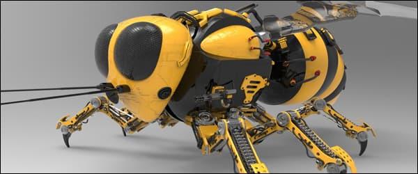 Роботы пчёлы