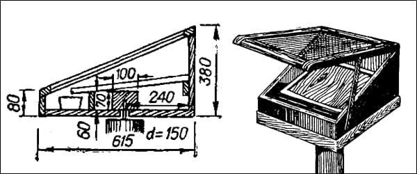 солнечная воскотопка чертеж конструкции