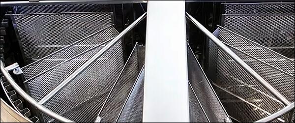 Медогонка хордиально радиальная Медуница 40х80 Комби Авто из нержавеющей стали