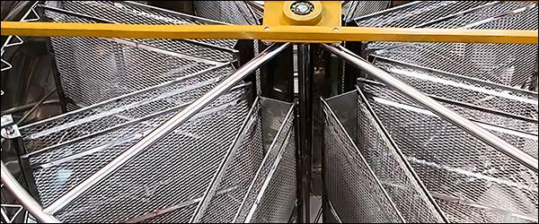 Медогонка Медуница 8 Комби Авто внутри кассеты из нержавеющей стали