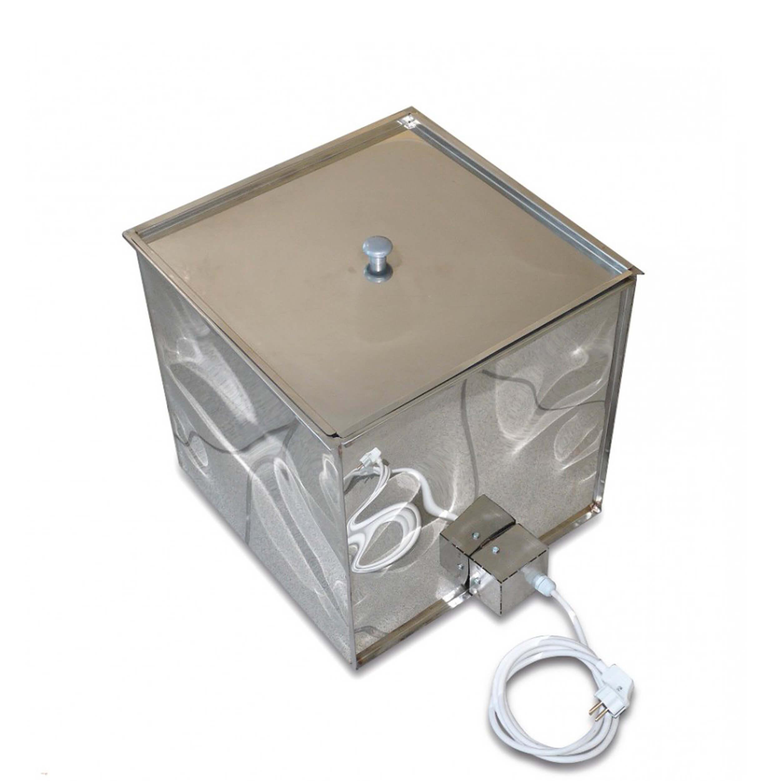 Контейнер декристаллизатор для роспуска меда в куботейнере фото