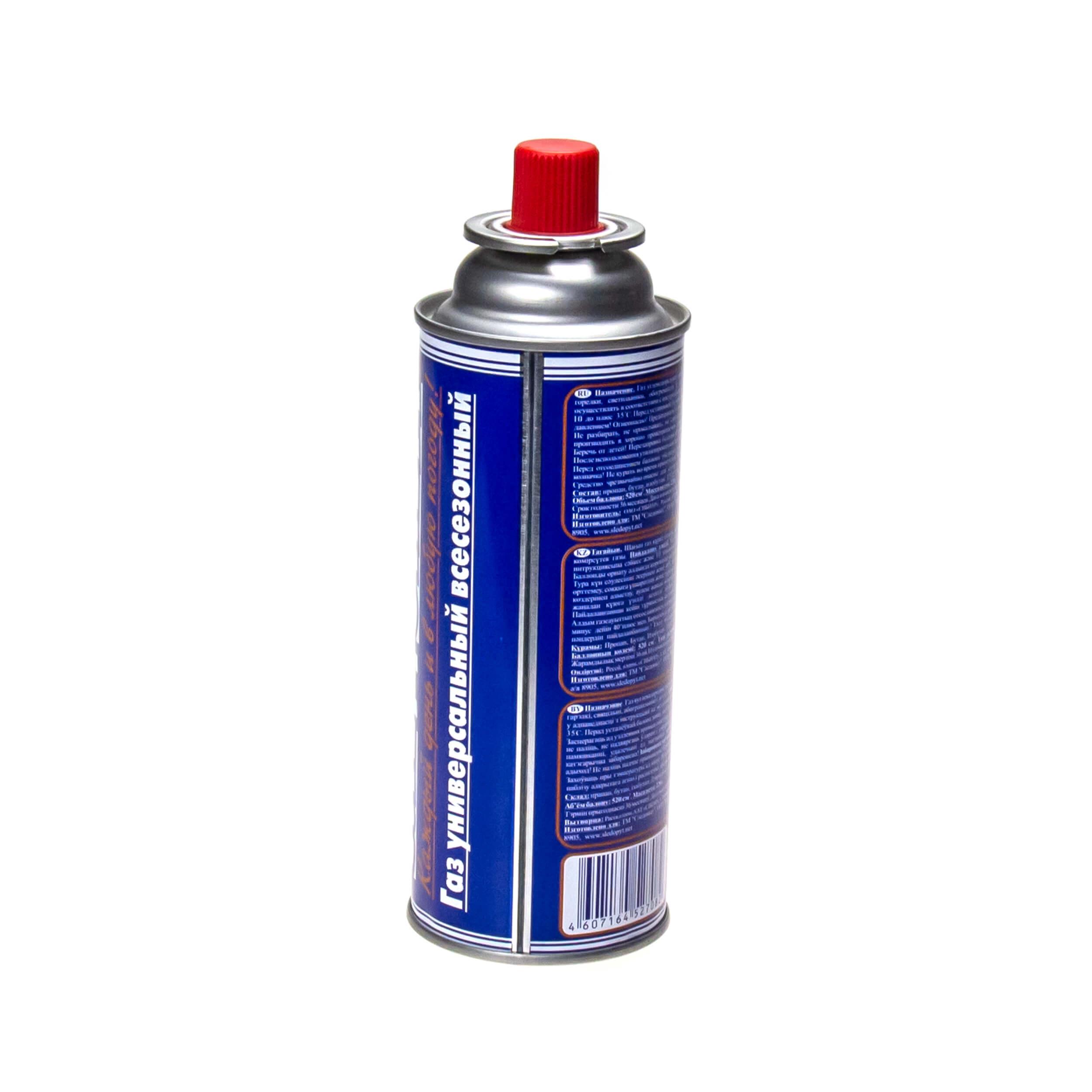 Газовый баллон для горелок (520 см3) фото
