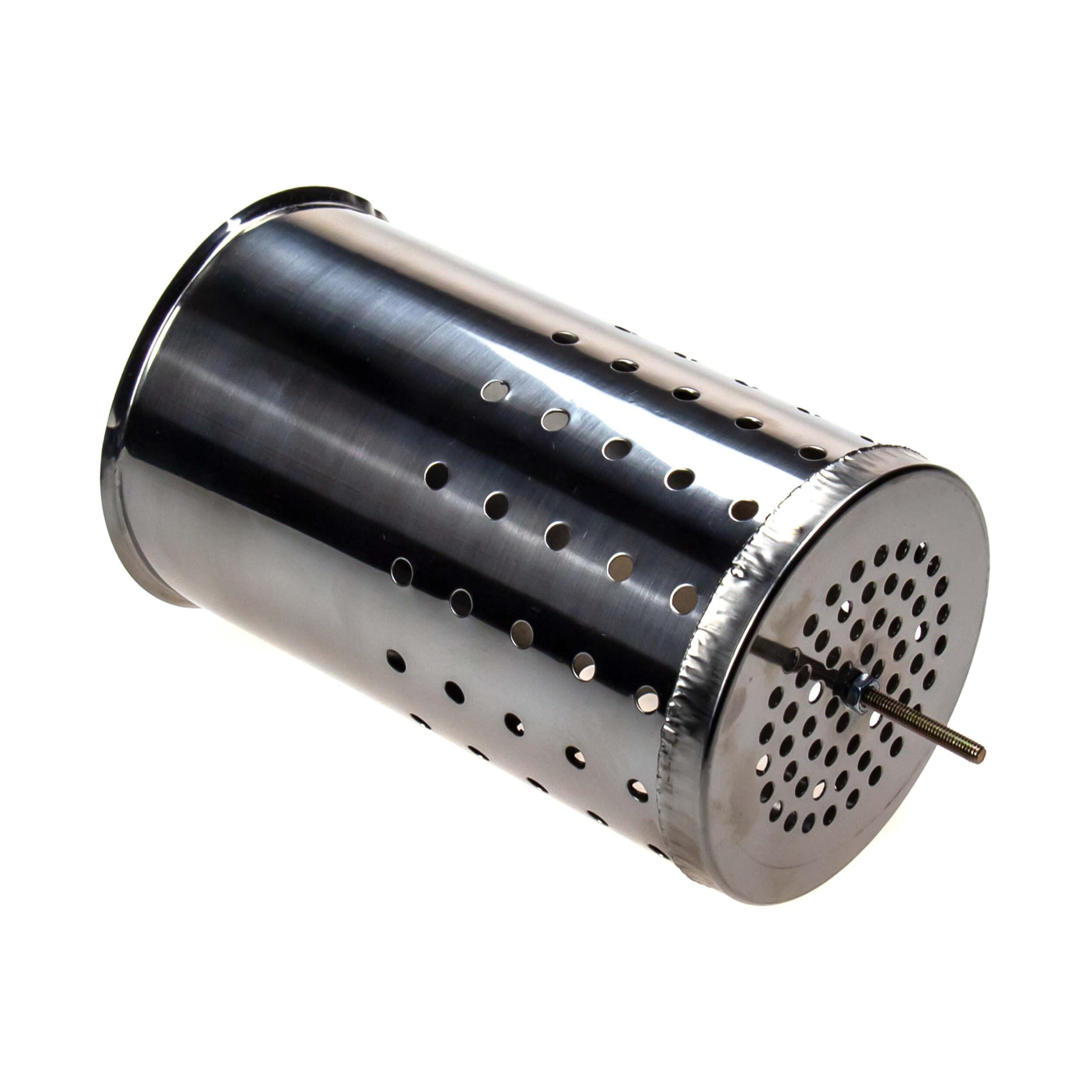 Дополнительный стакан для дымаря (нержавейка, 155х95) фото