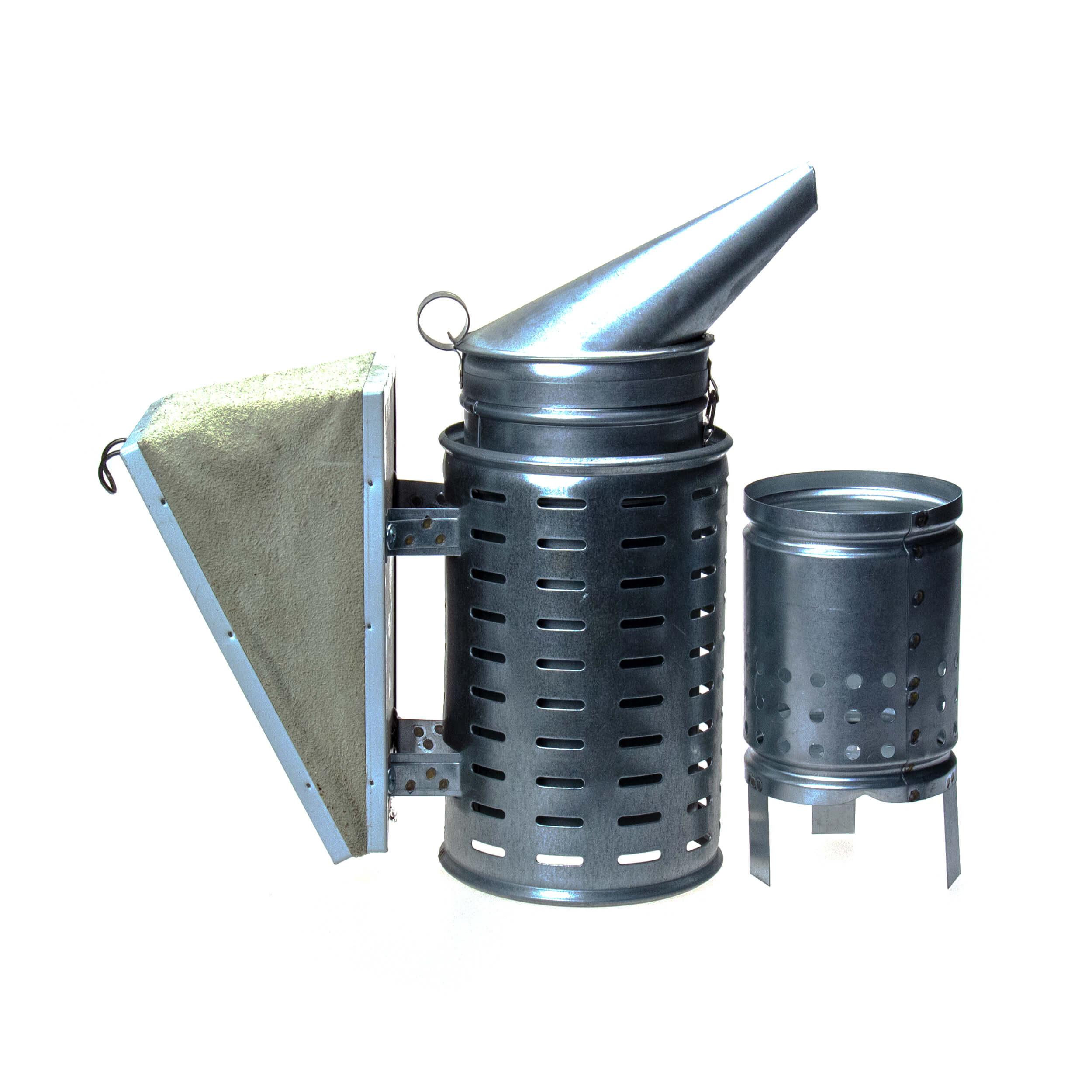 "Дымарь для пчел ""BF-DPO-3"" (оцинковка, макс защита, стакан) фото"