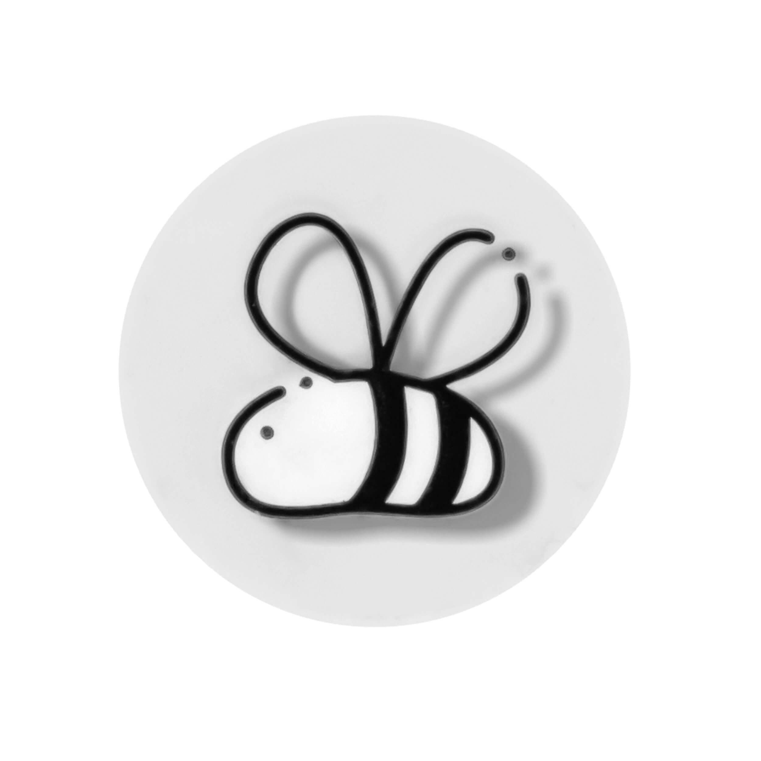 """Стикер медовый декоративный """"Пчела-2"""" (100 штук) фото"""
