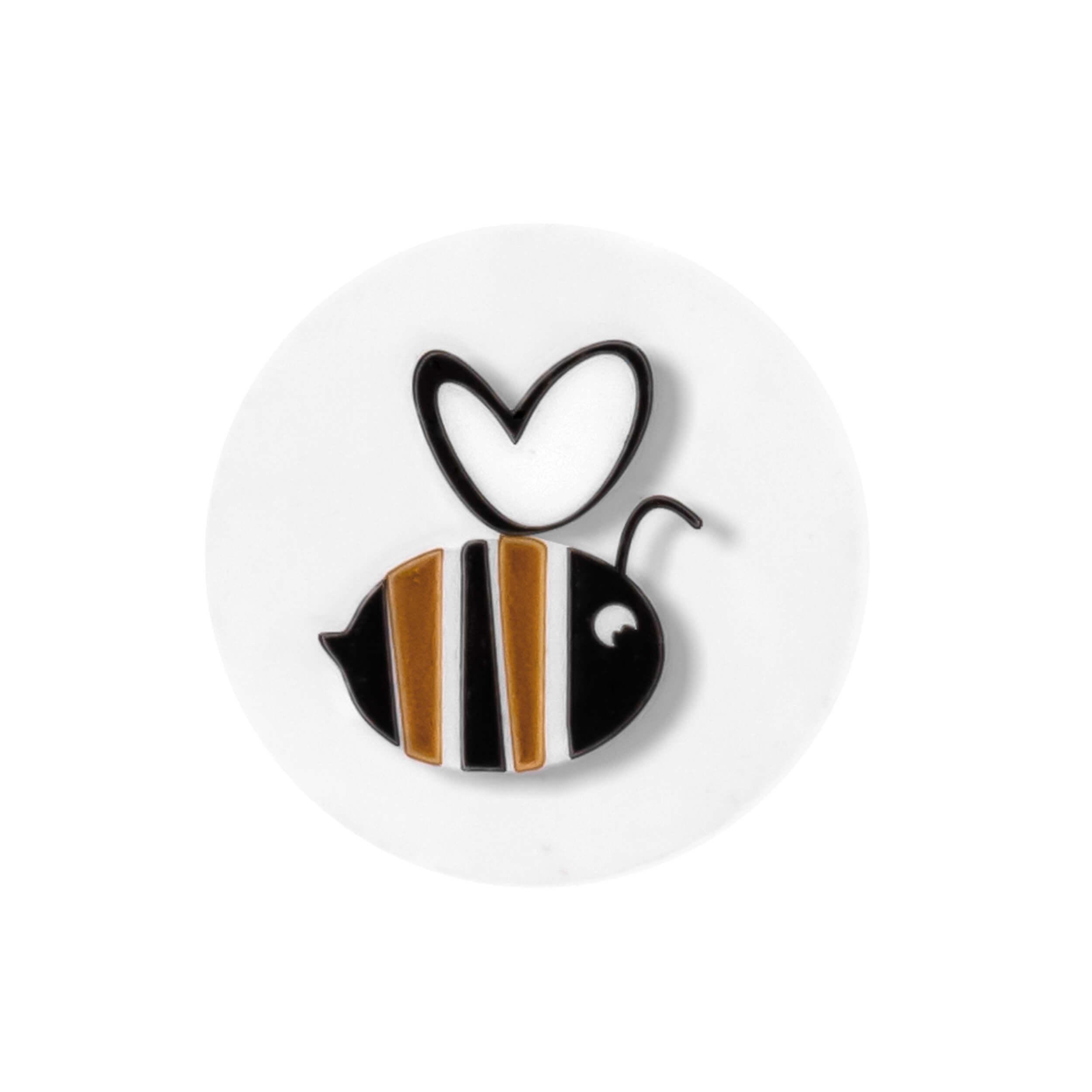 """Стикер медовый декоративный """"Пчела-3"""" (100 штук) фото"""