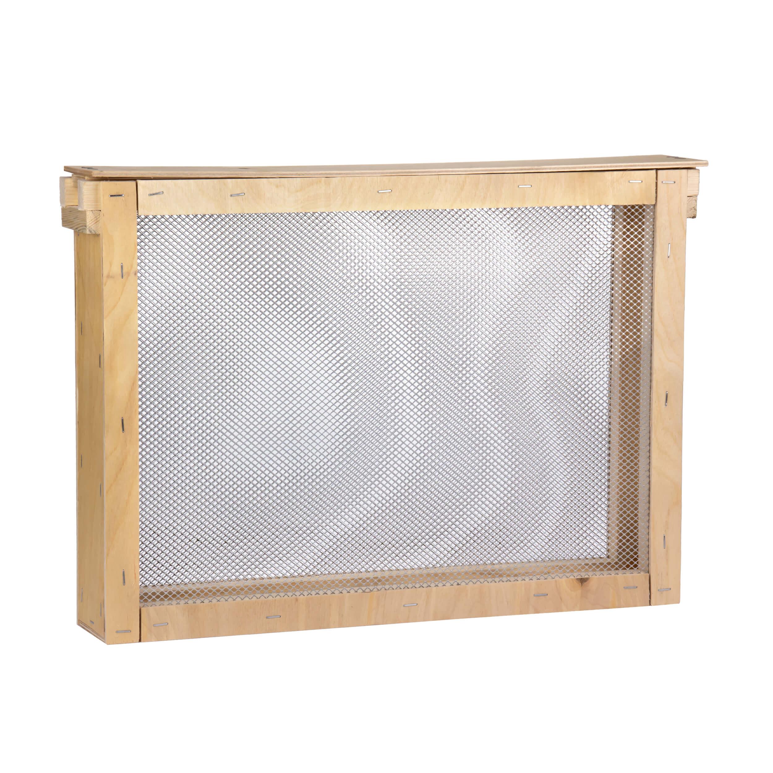 """Изолятор для пчелиных маток на 1 рамку """"Дадан"""" сетка - оцинкованная сталь, корпус - фанера фото"""