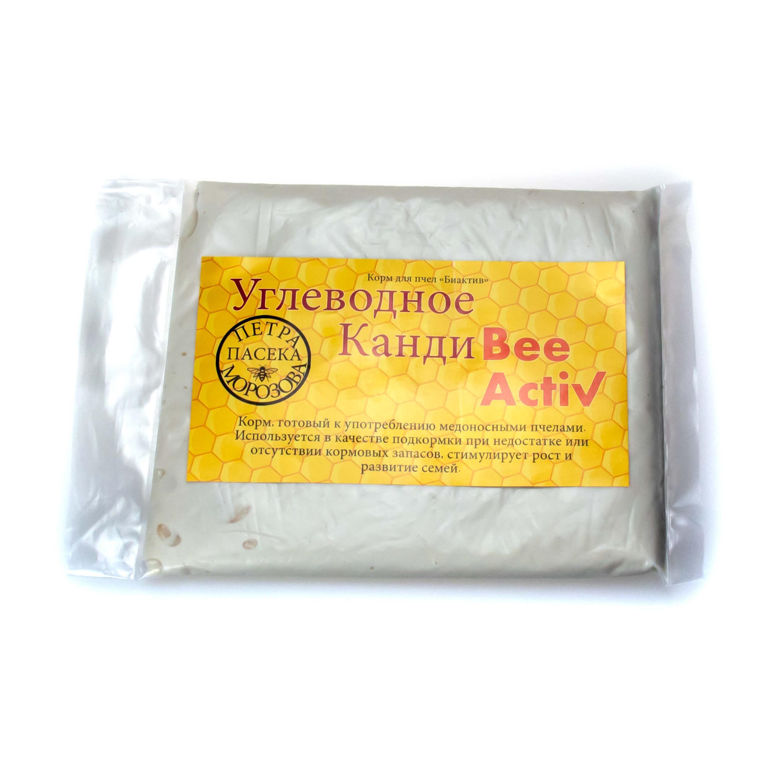 """Канди углеводное """"Bee Activ"""" (1 кг) фото"""