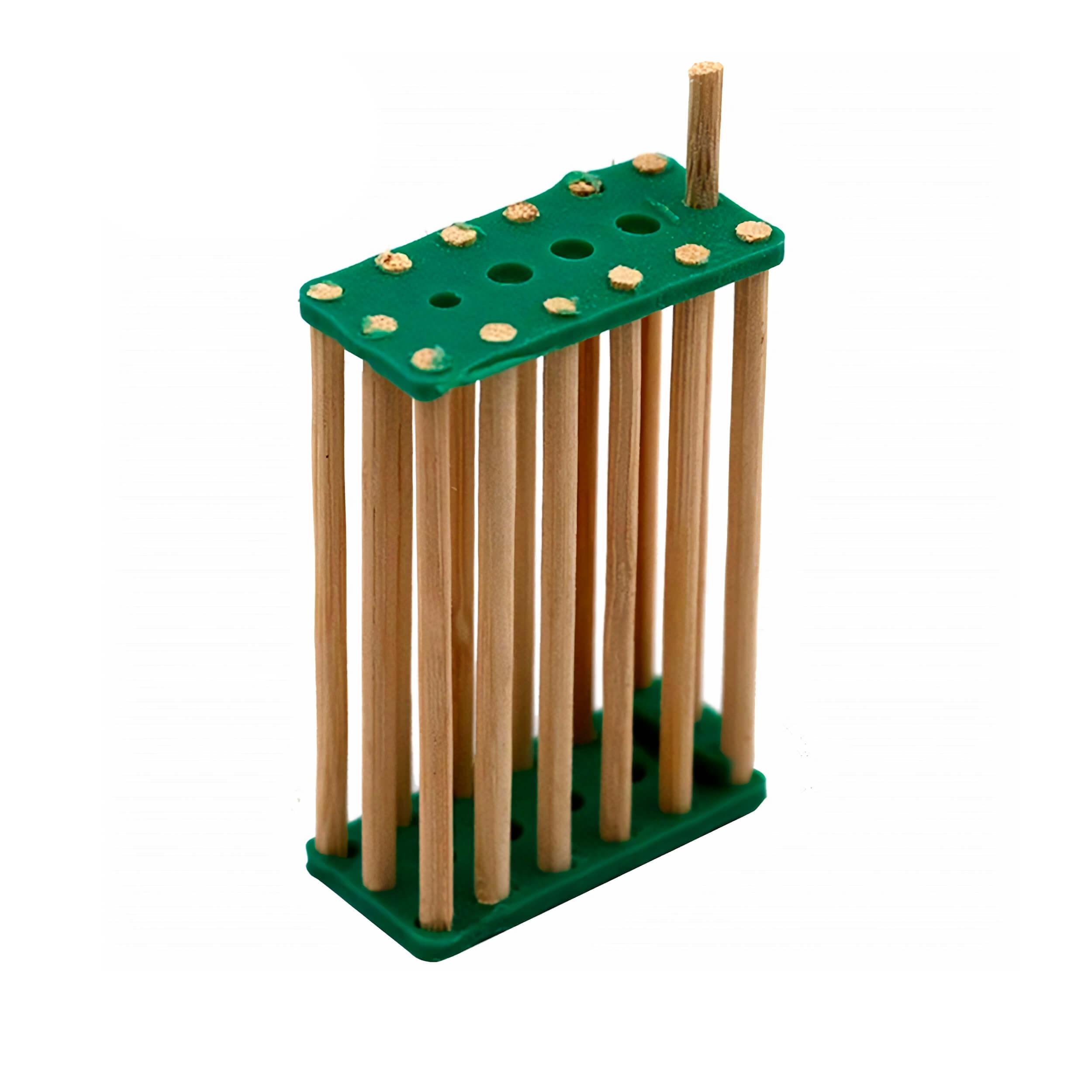Клеточка для матки деревянная (бамбук) фото