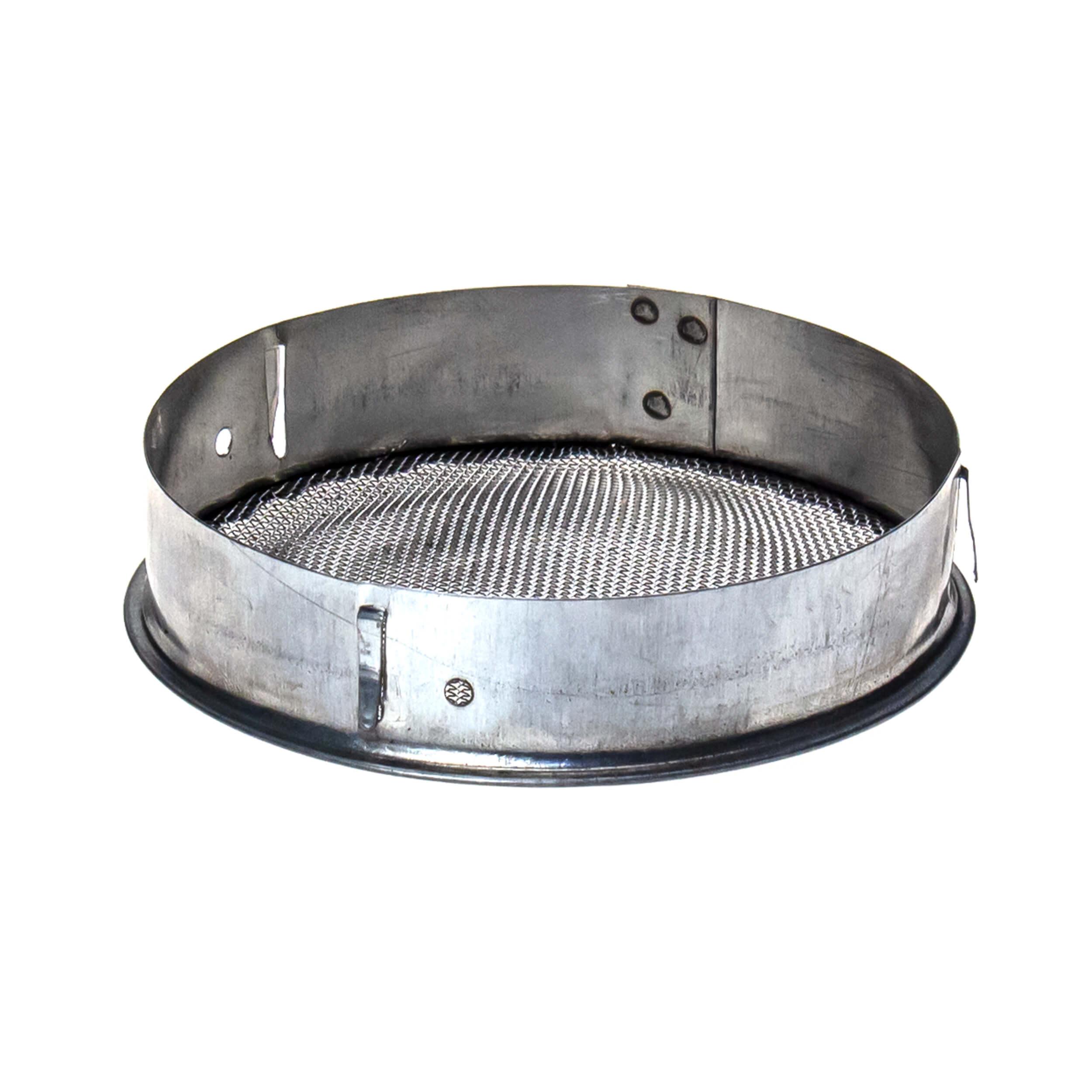 Колпачок D-95 маточный круглый (оцинковка + сетка нержавейка) фото