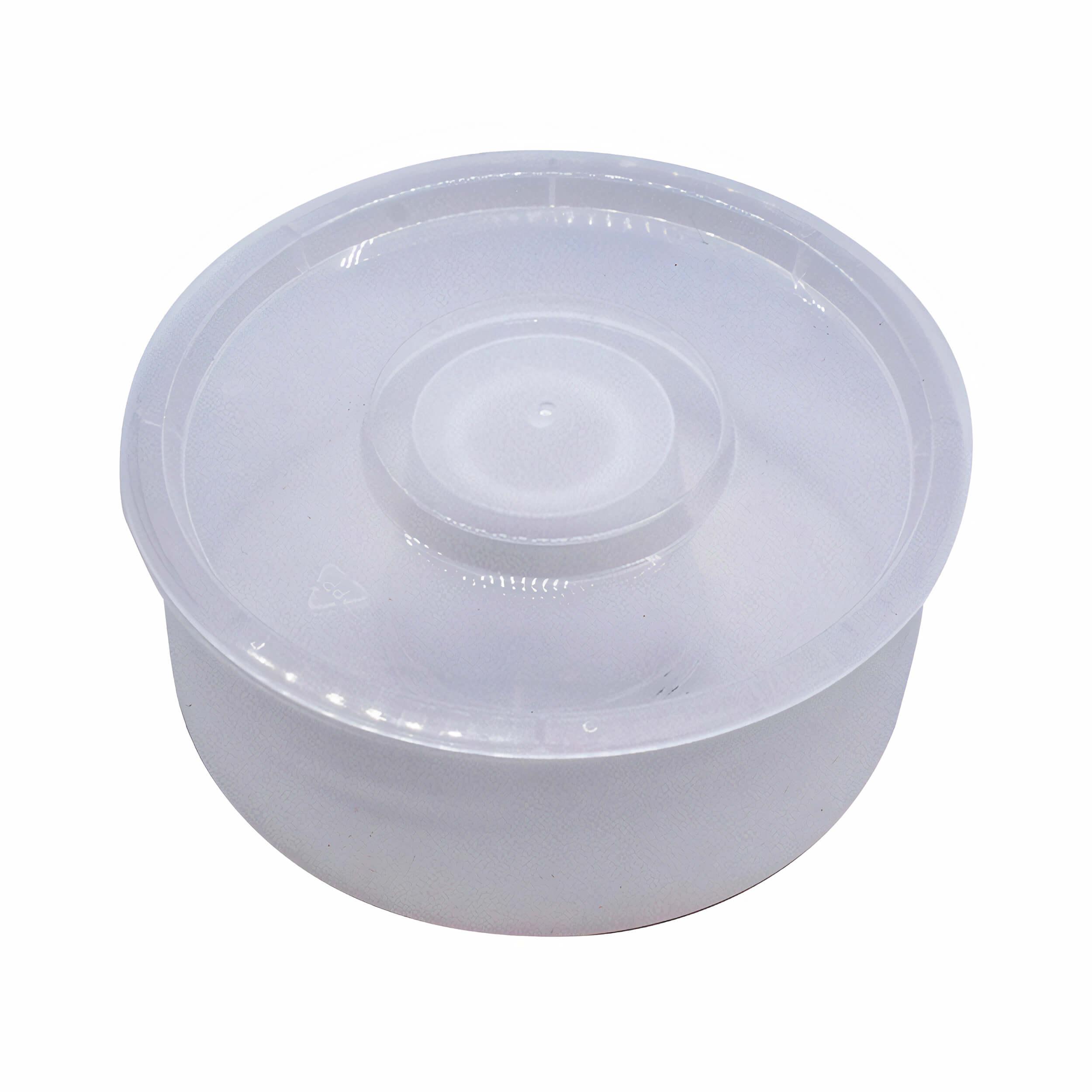 Кормушка для пчел надрамочная круглая пластиковая (на 2.3 литра) фото
