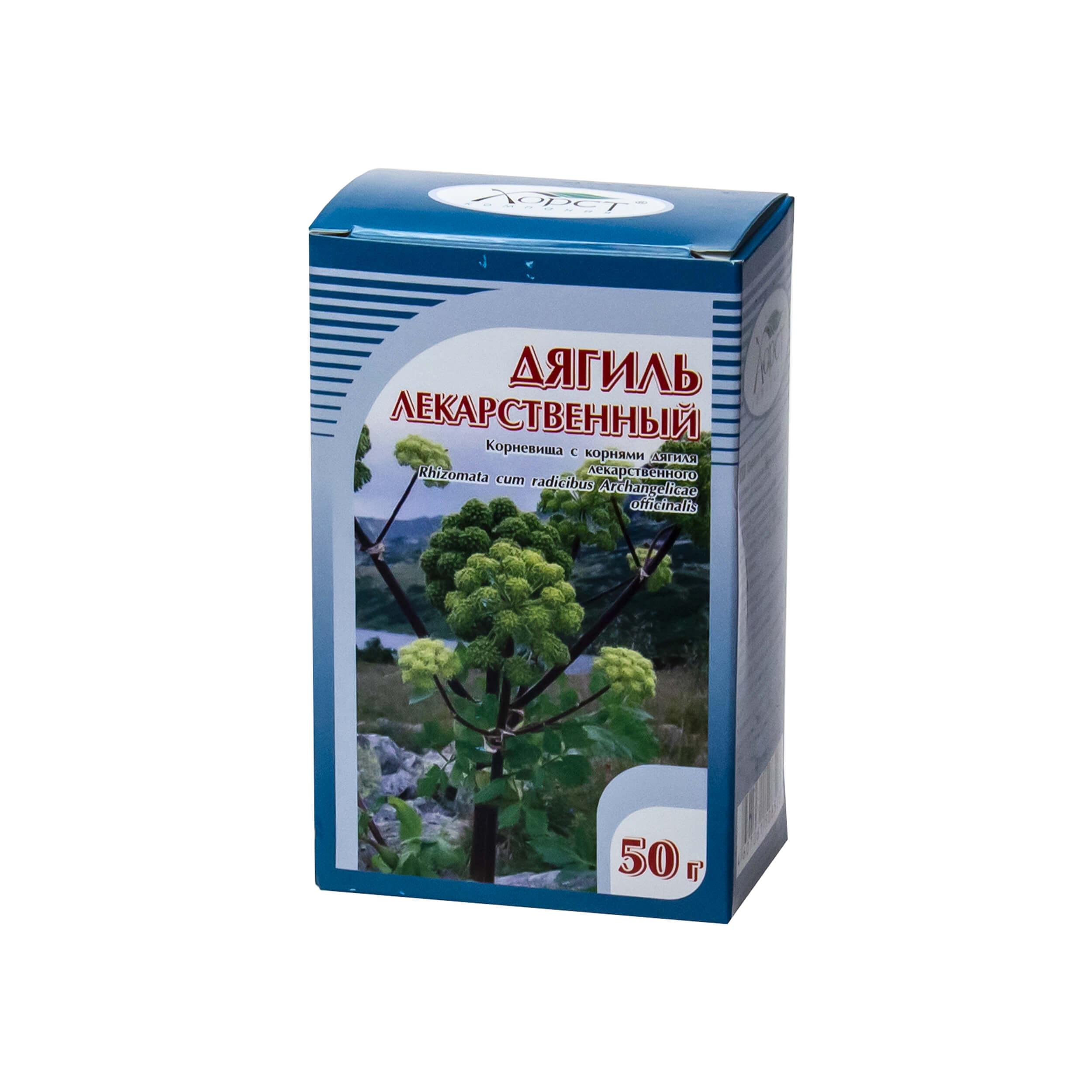 Дягиль лекарственный (корневища с корнями, 50 грамм) фото