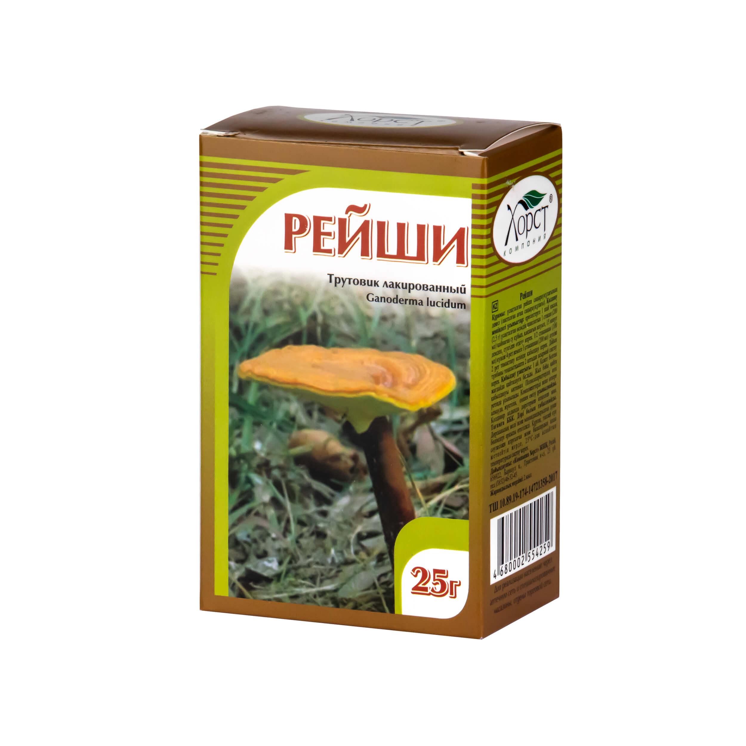Рейши гриб трутовик лакированный (25 грамм) фото