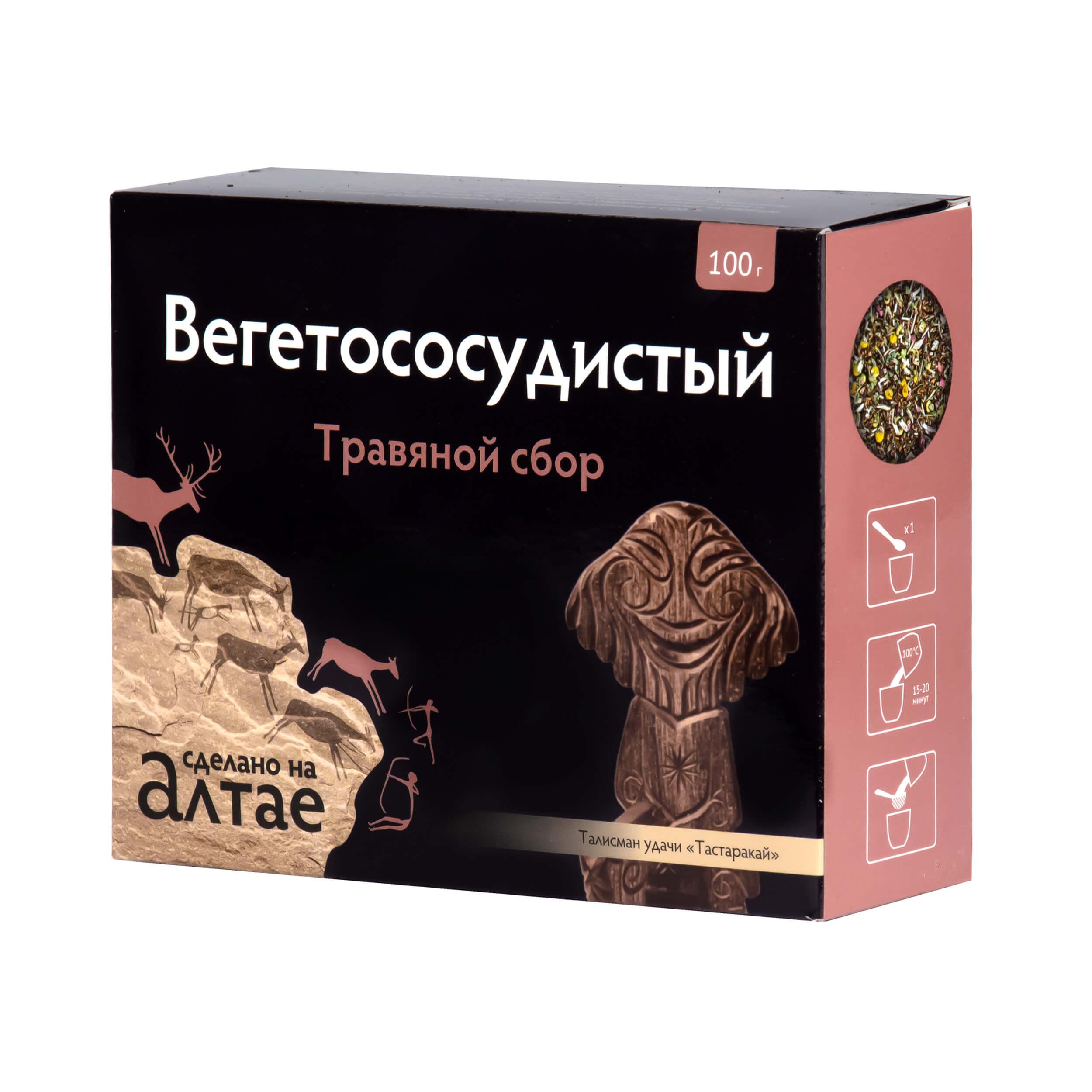 """Травяной сбор """"Вегетососудистый"""" (100 грамм, россыпь) фото"""