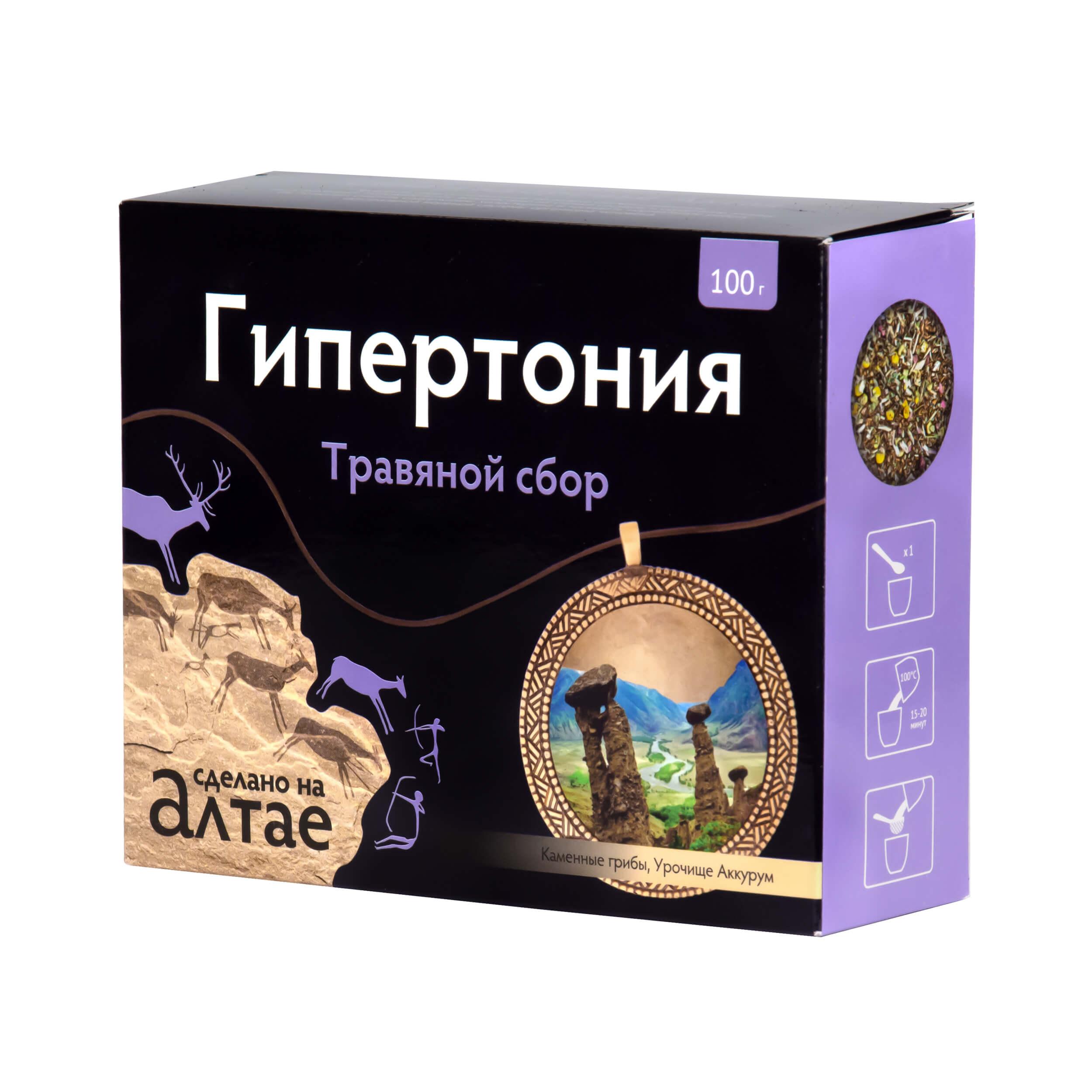 """Травяной сбор """"Гипертония"""" (100 грамм, россыпь) фото"""