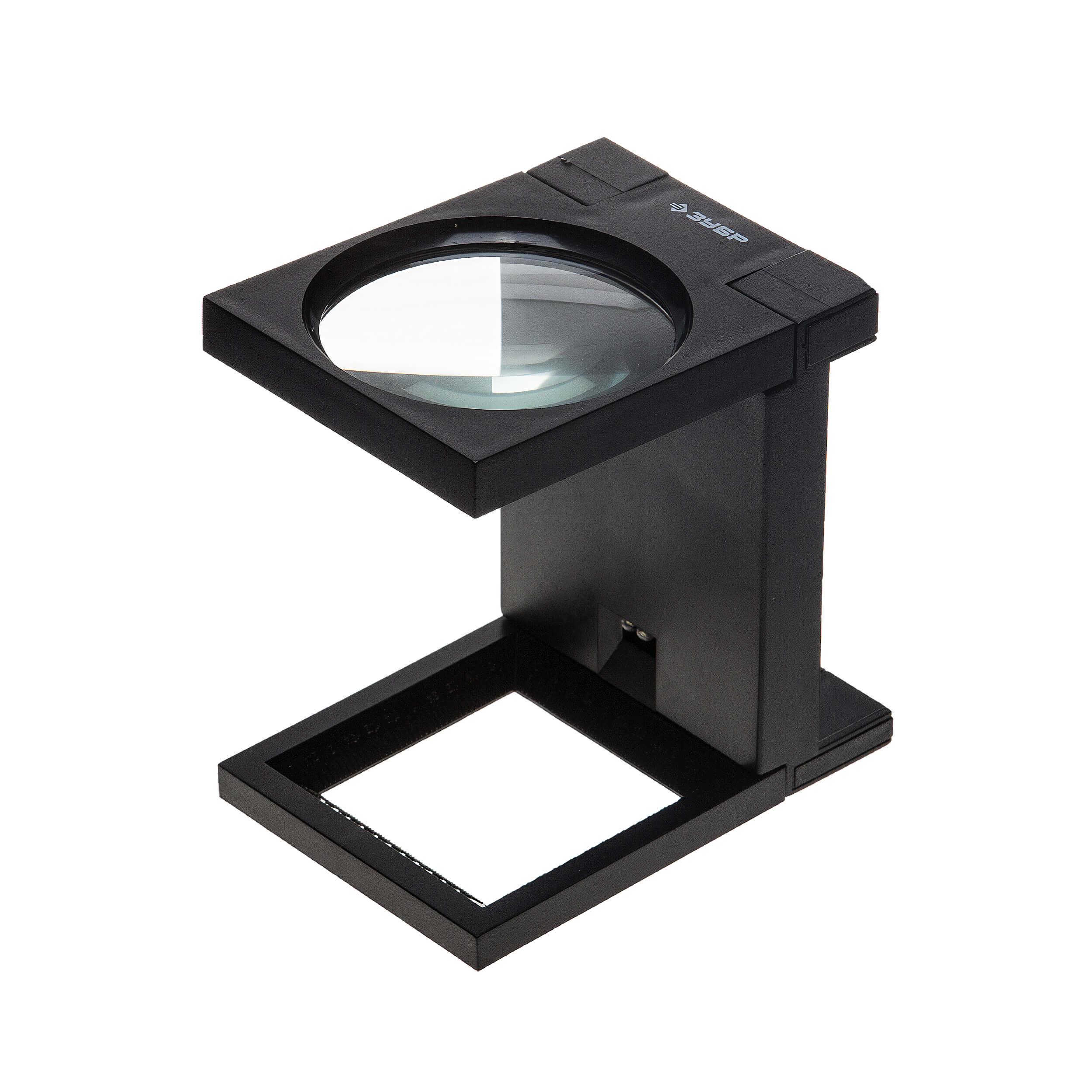 Увеличительное стекло складное с подставкой D110 (увеличение x2) фото