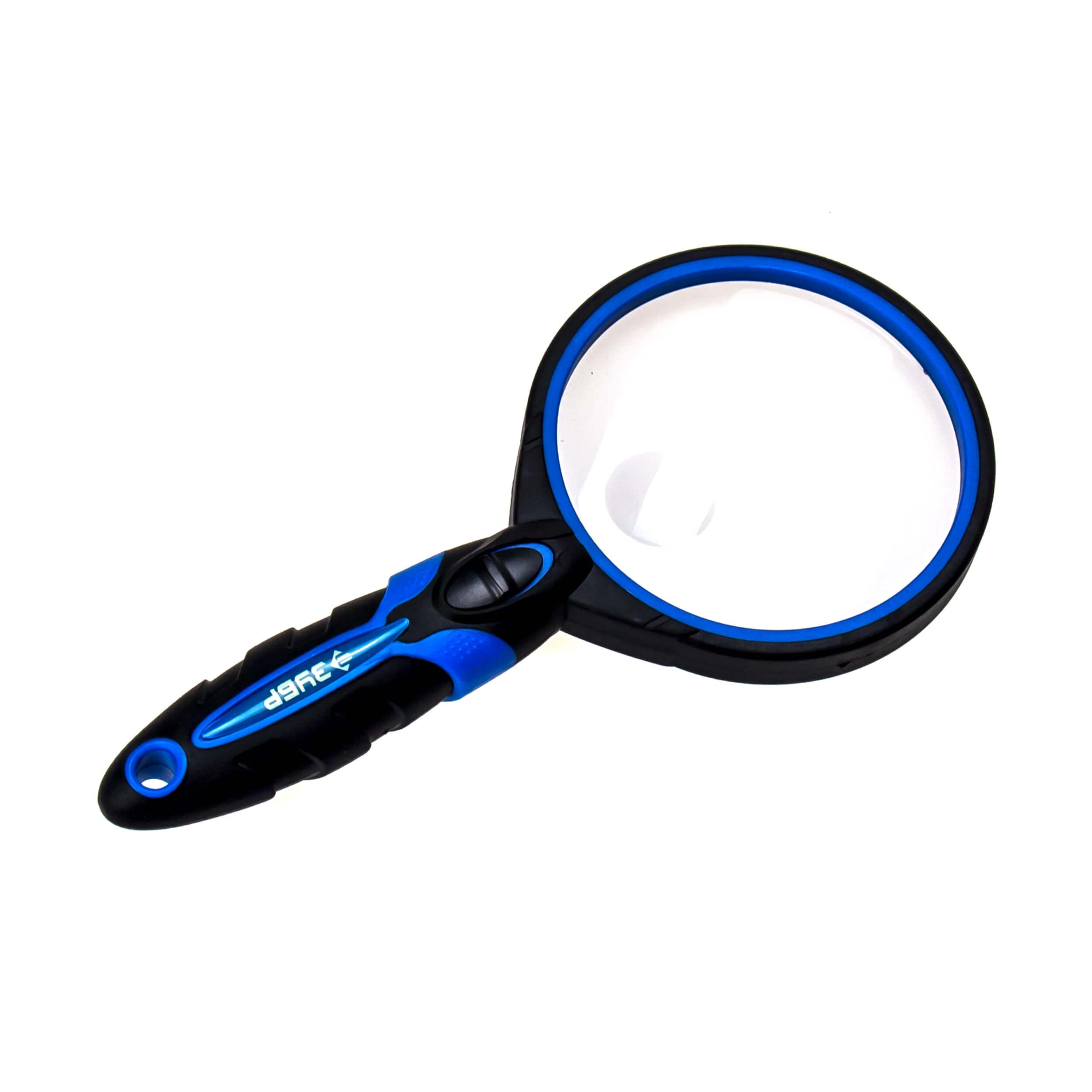 Увеличительное стекло лупа с подсветкой (Экперт, D75 мм) фото