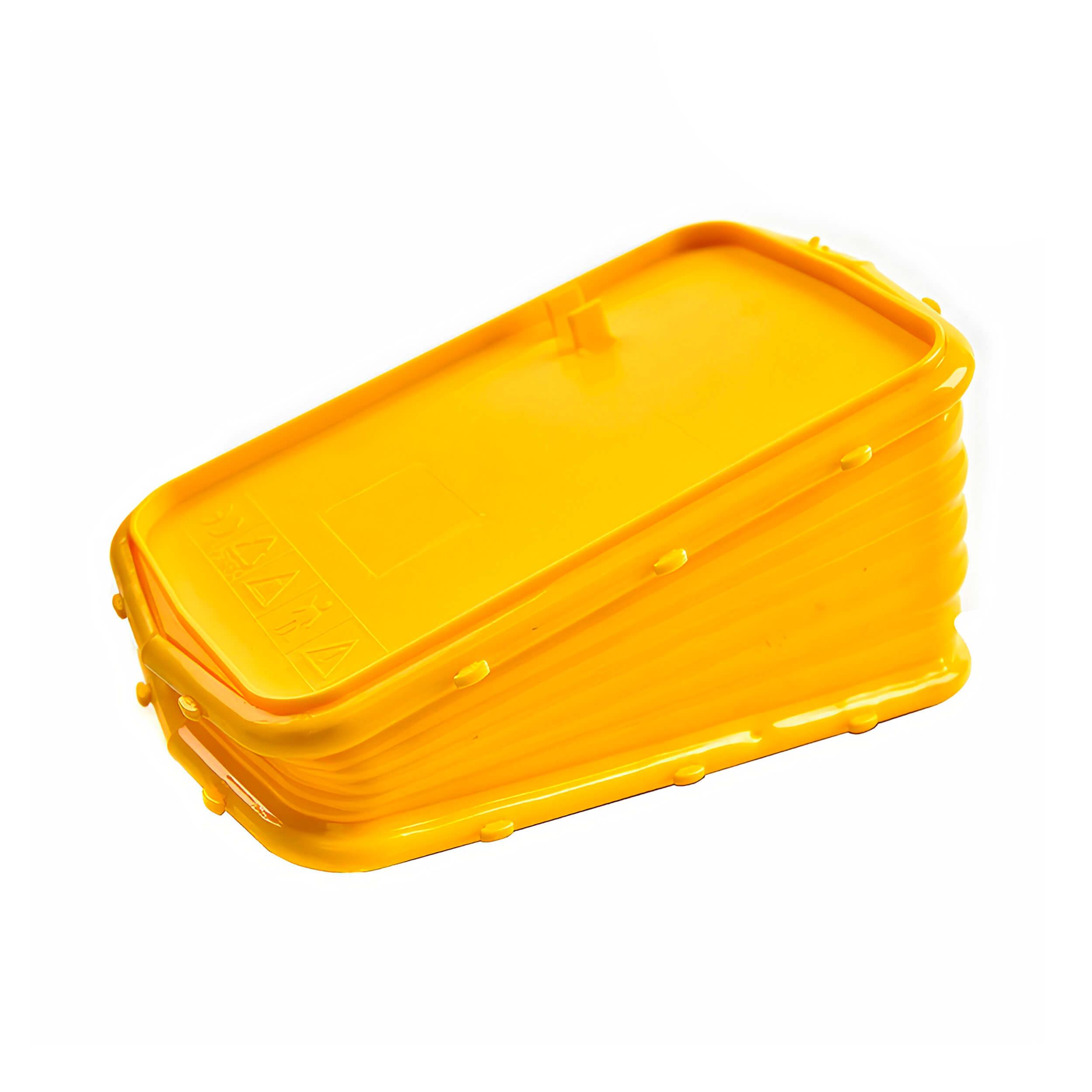 """Меха для пасечного дымаря """"Plastic-Yellow-210"""" (Пластик, силикон) фото"""