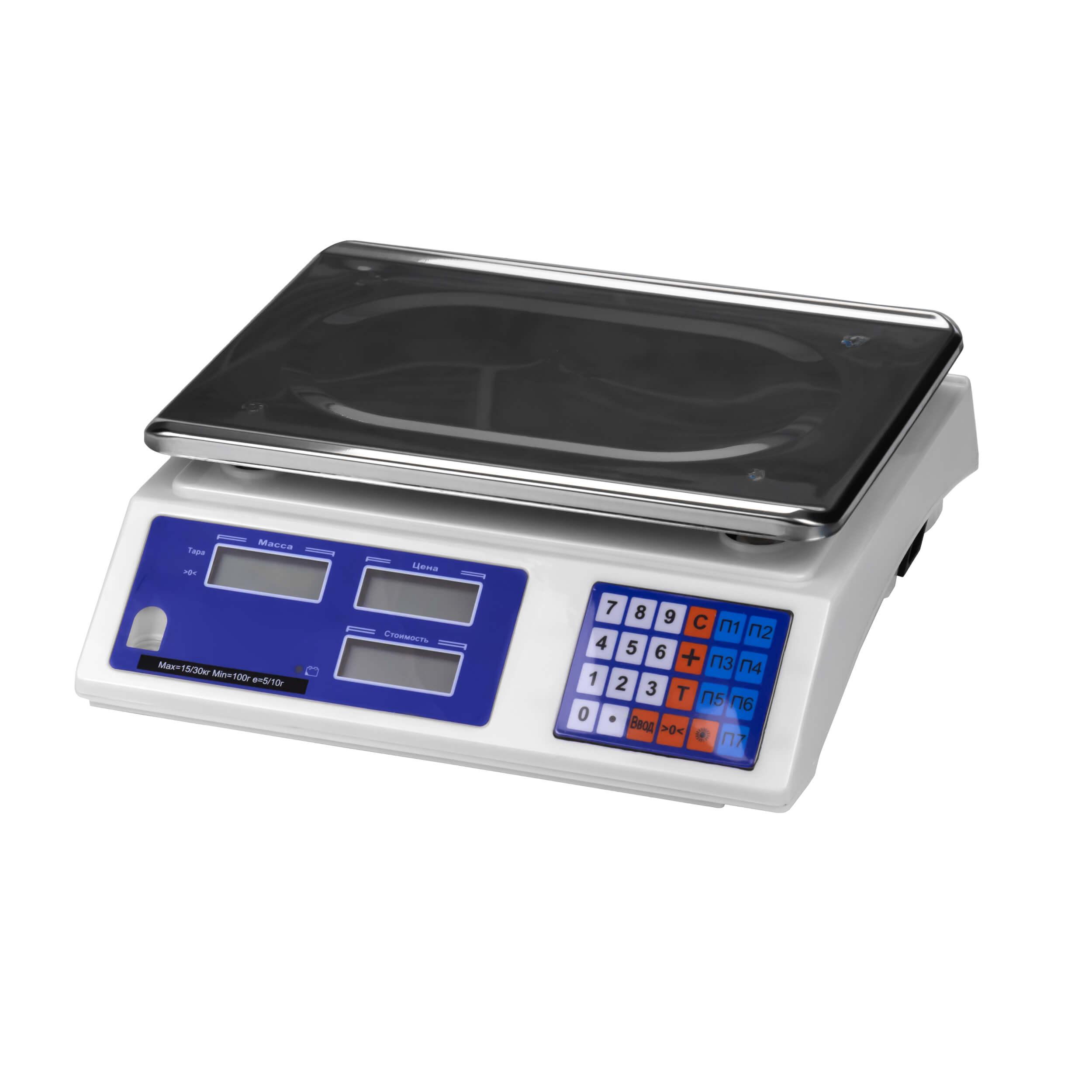 Весы настольные электронные МЖА-15-2 (до 15 кг) фото