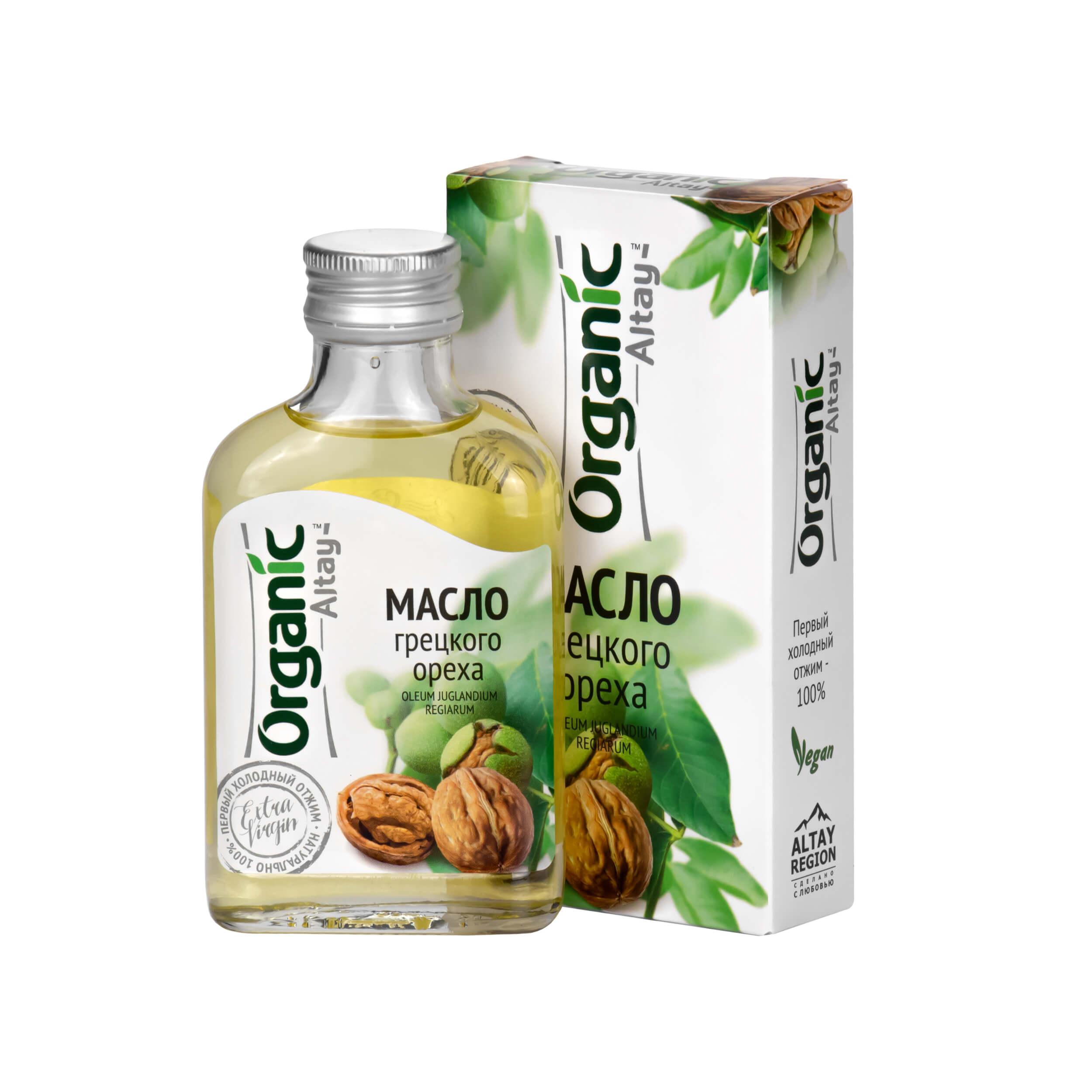 Масло грецкого ореха Organic Altay (100 мл) фото