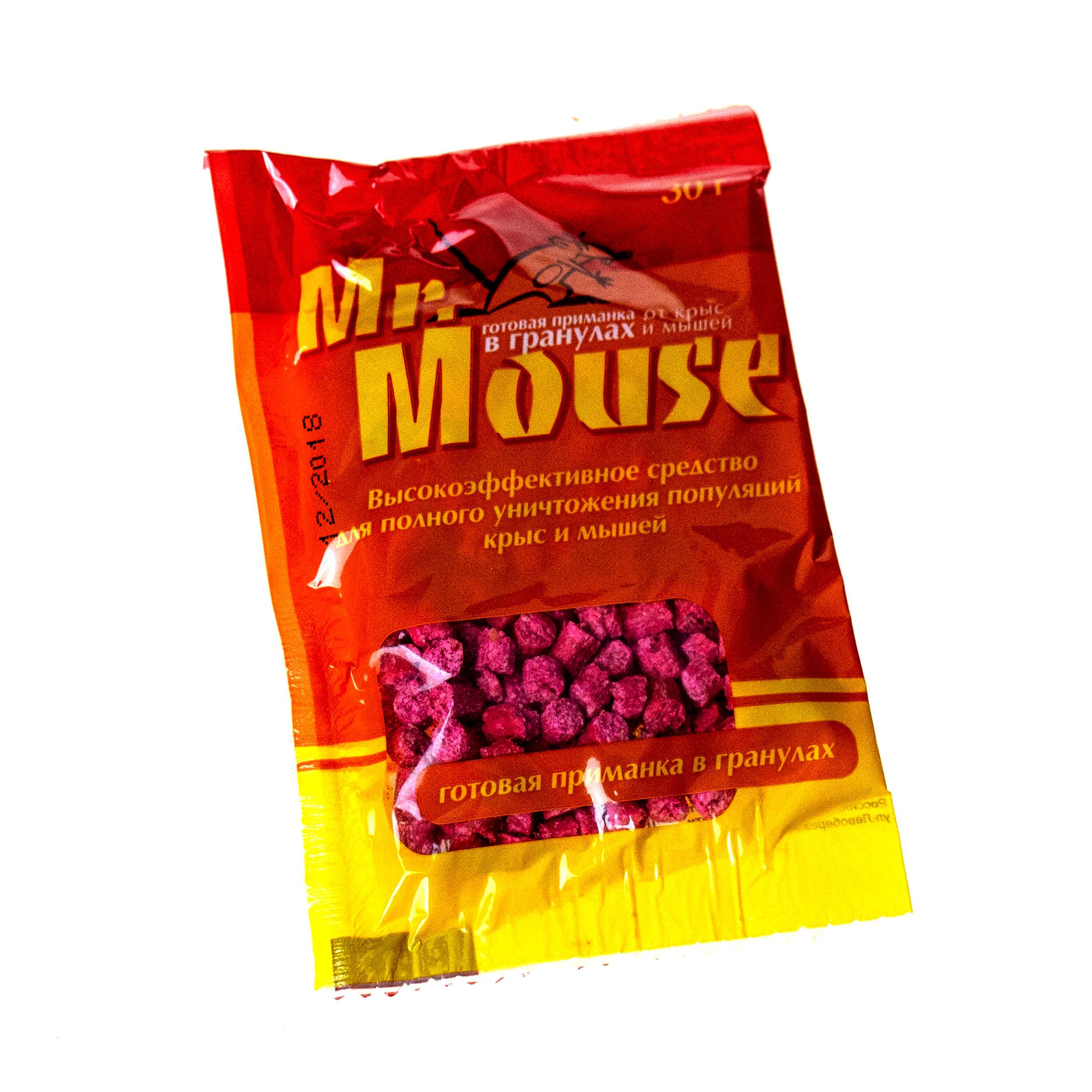 "Средство ""Mr.Mouse"" (гранулы, 30 грамм) фото"