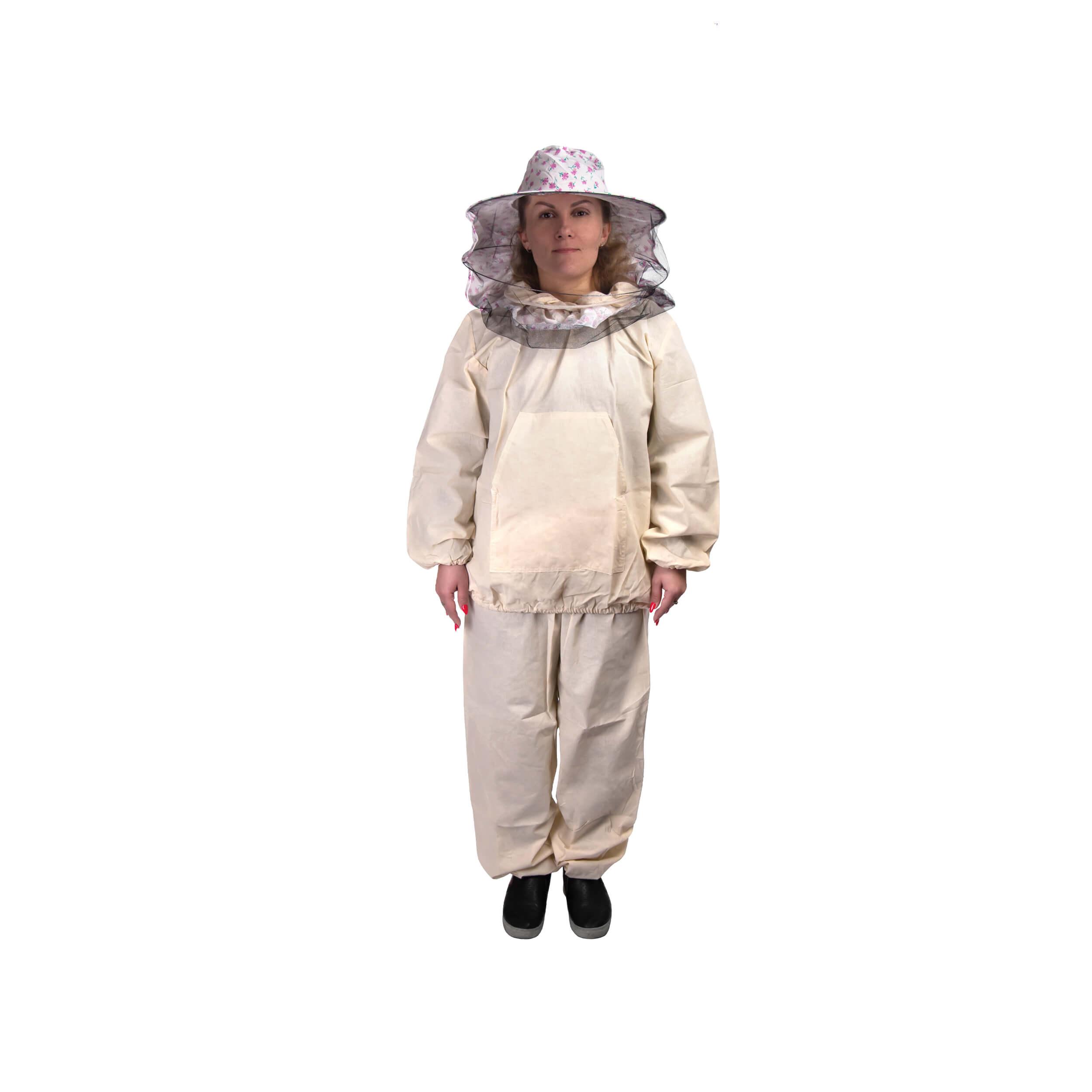 Костюм пчеловода детский легкий (38-40 размер) + лицевая сетка (рост 138-140) фото