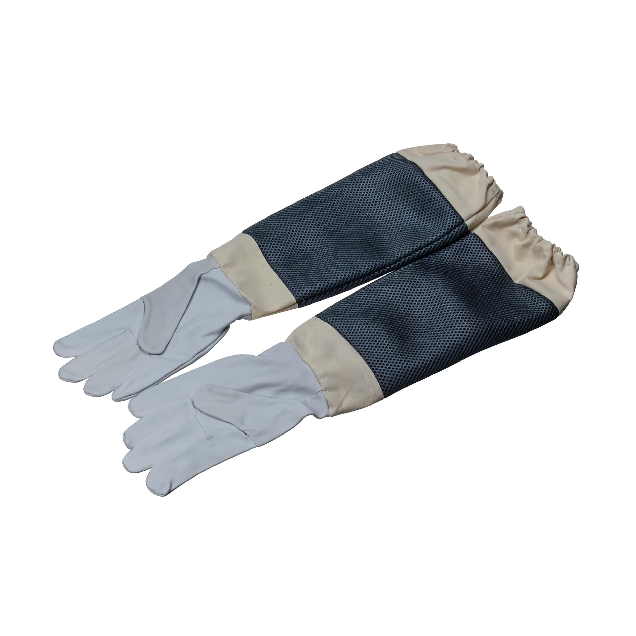 "Перчатки пчеловода ""Air-leather White CE"" (11 размер) фото"