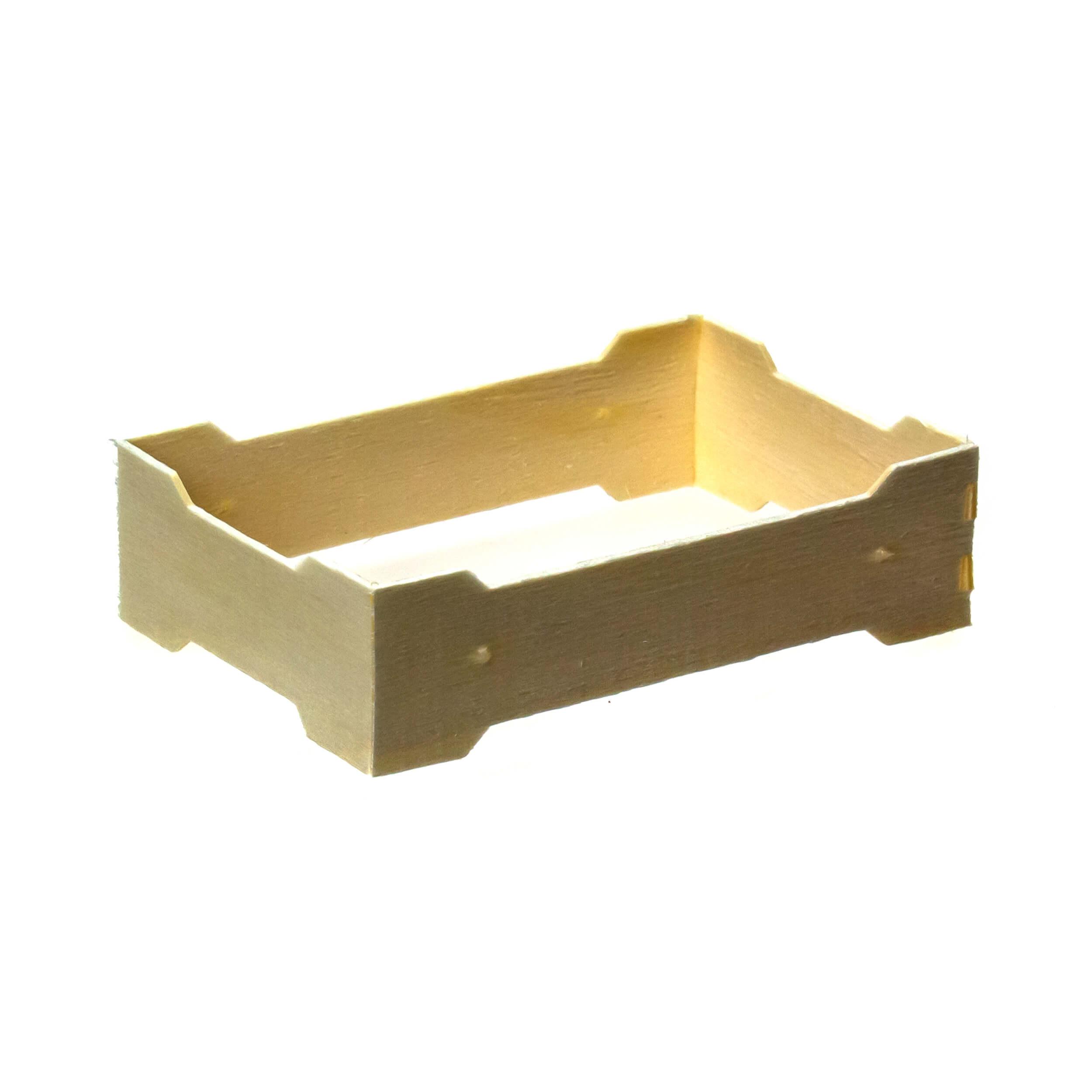 Мини рамка секционная для сотового меда (83х131х37 с отверстиями, дерево, упаковка 50 штук) фото