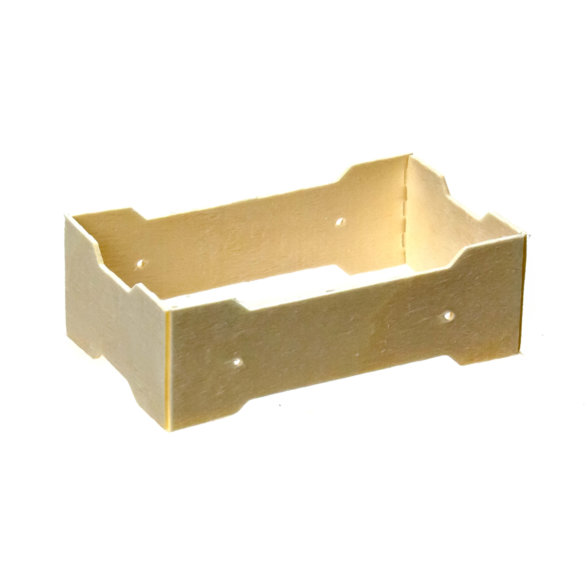 Мини рамка секционная для сотового меда (67х125х37 с отверстиями, дерево, упаковка 50 штук) фото