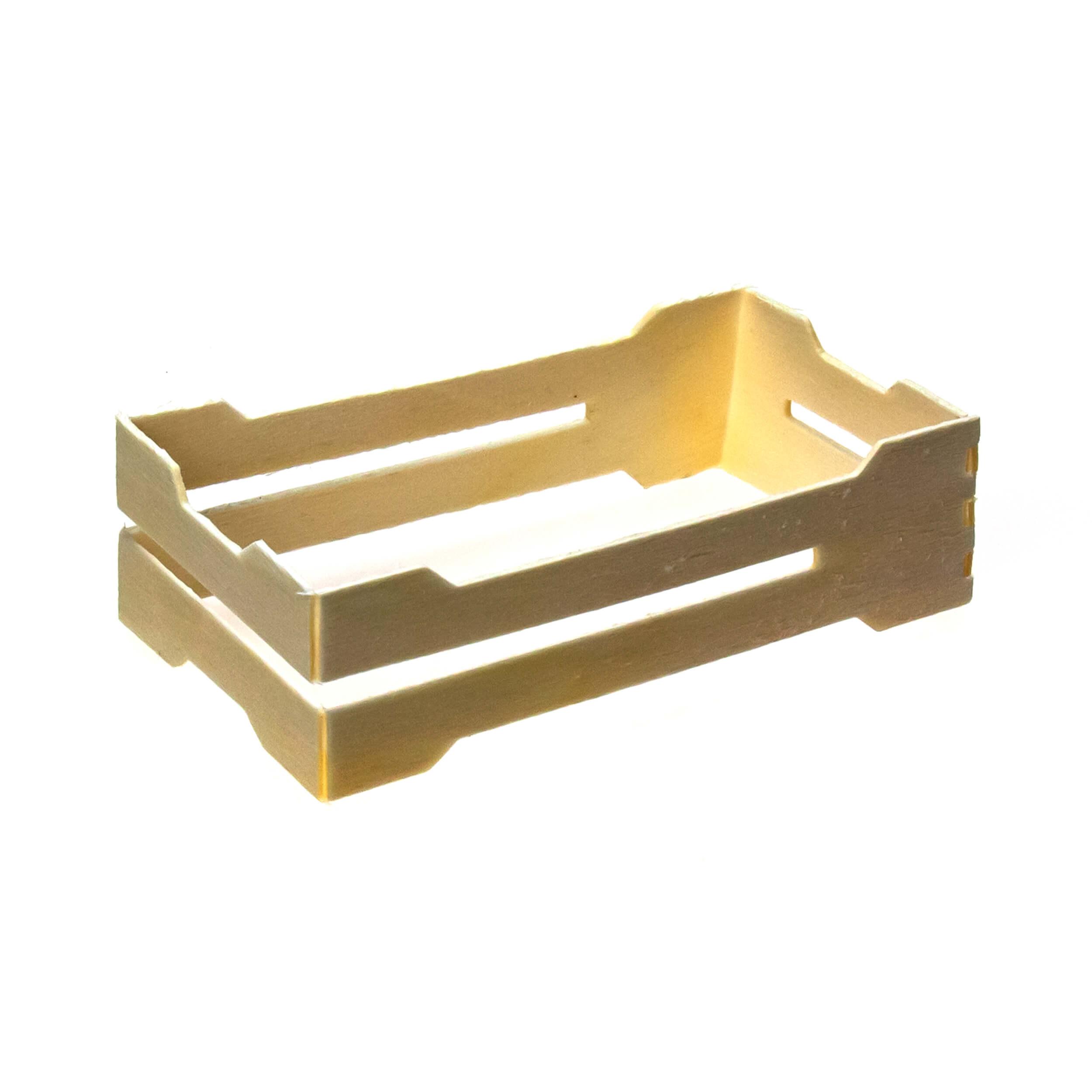 Мини рамка секционная для сотового меда (67х125х37 с универсальными пазами, дерево, упаковка 50 штук) фото