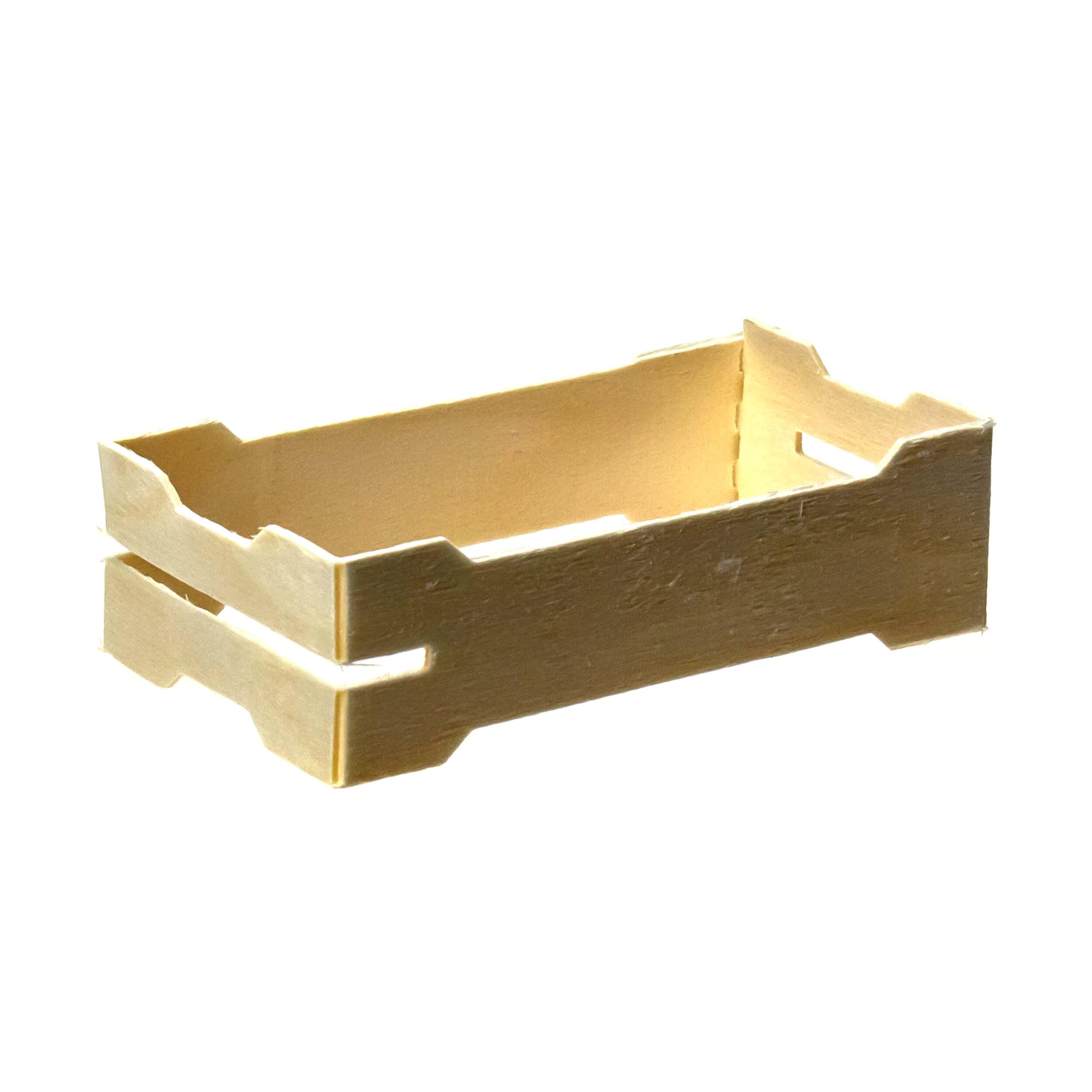 Мини рамка секционная для сотового меда (67х125х37 с верхними пазами, упаковка 50 штук) фото