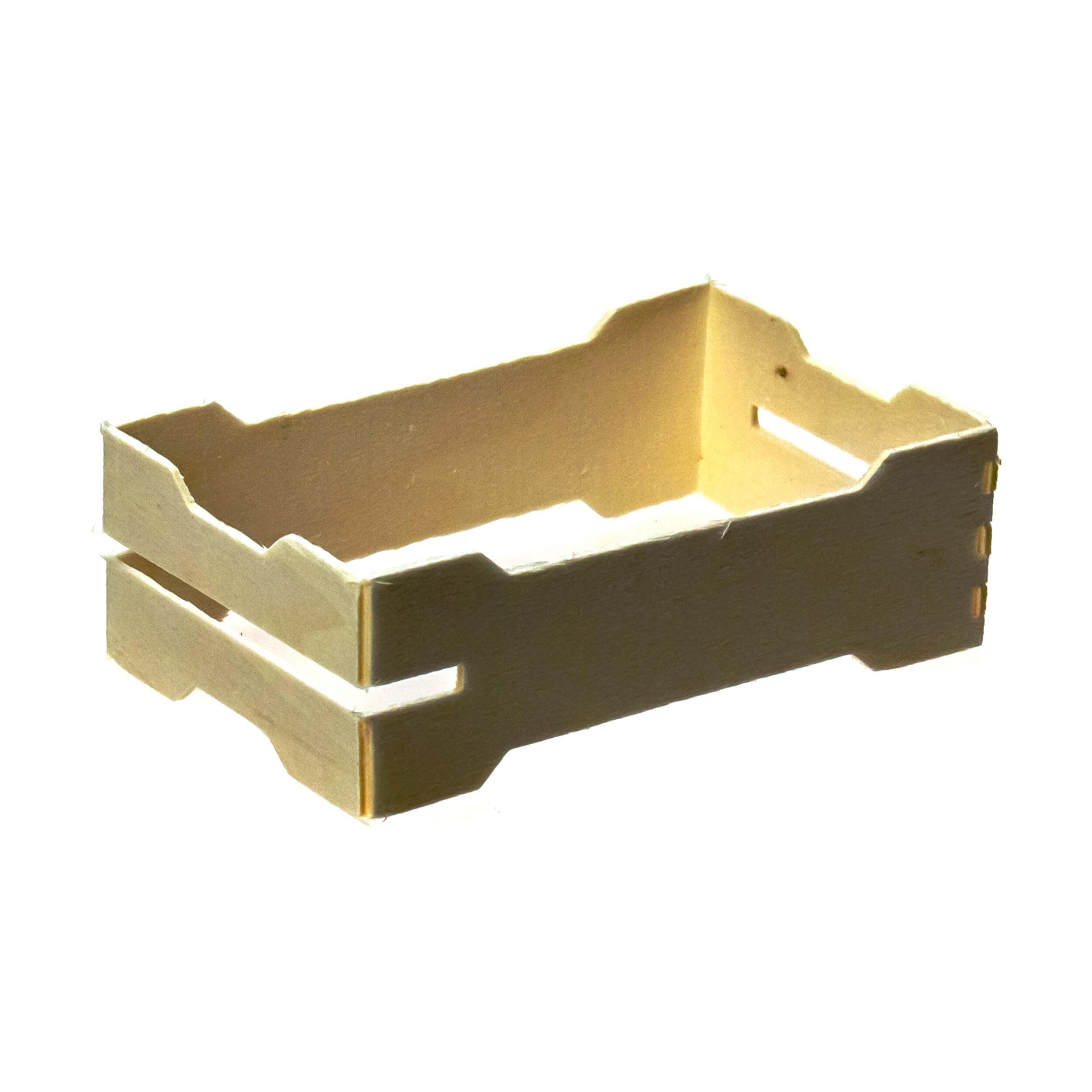 Мини рамка секционная для сотового меда (67х110х37 с верхними пазами, дерево, упаковка 50 штук) фото