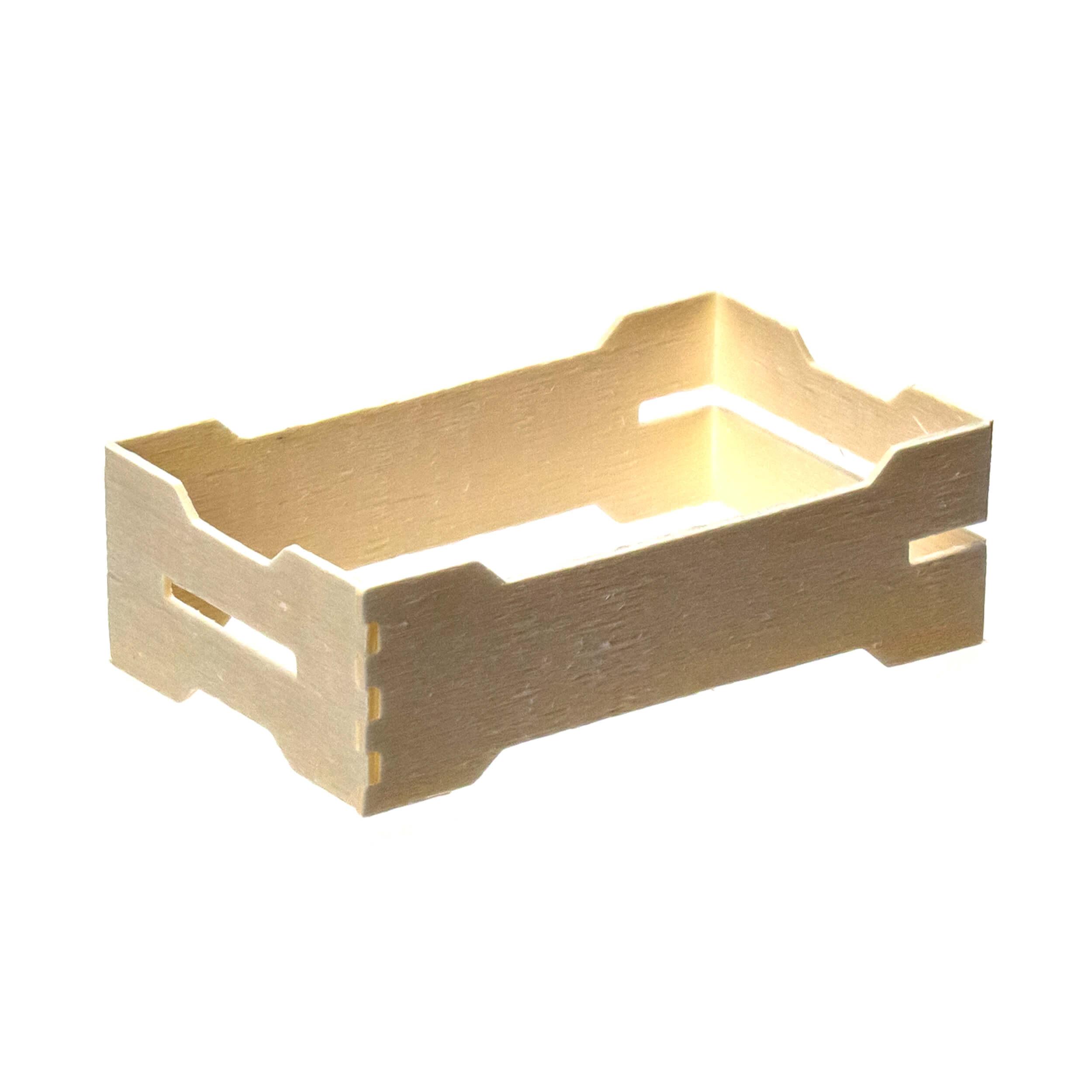 Мини рамка секционная для сотового меда (67х115х37 с верхними пазами, дерево, упаковка 50 штук) фото