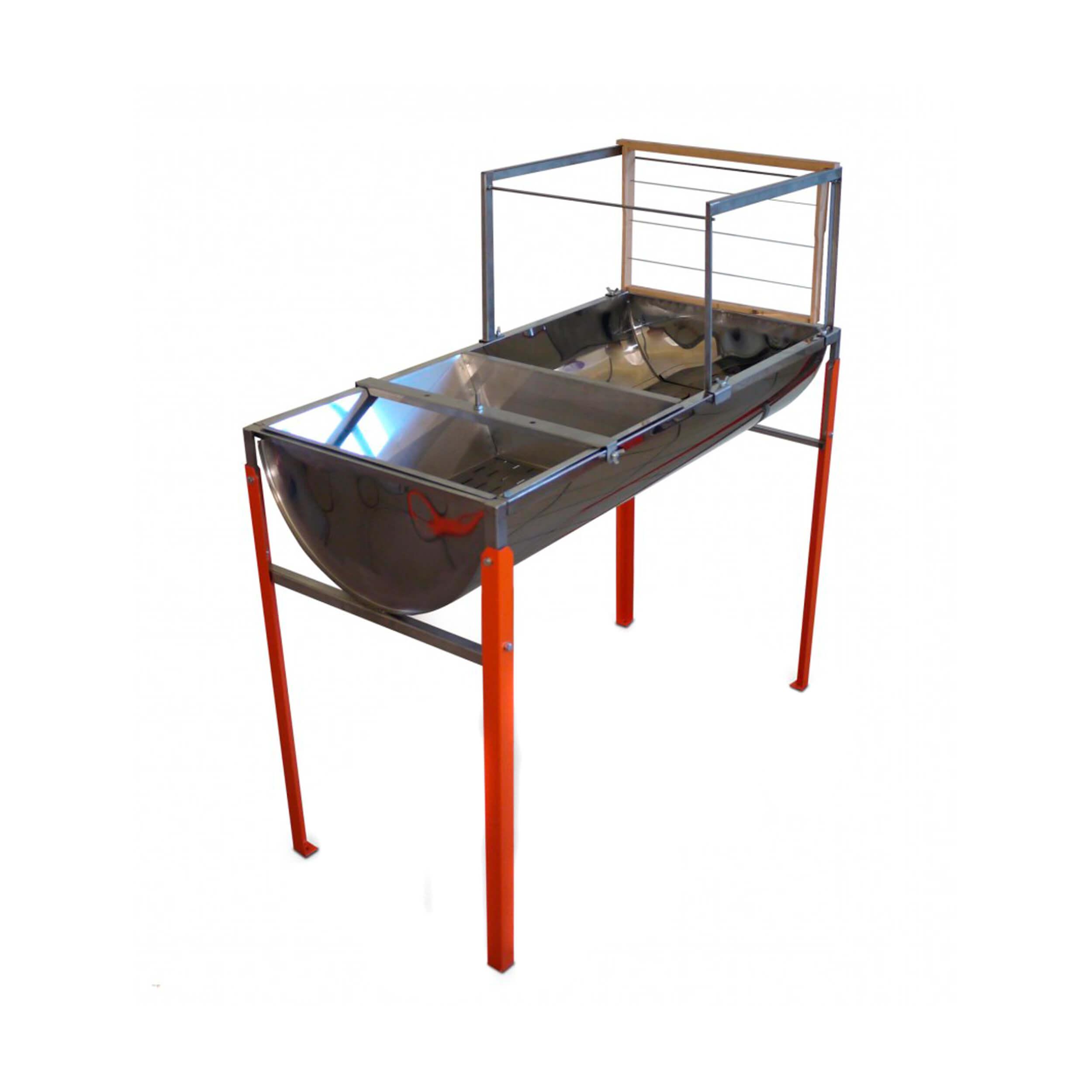 Стол для распечатки рамок (51х103, нержавейка) фото