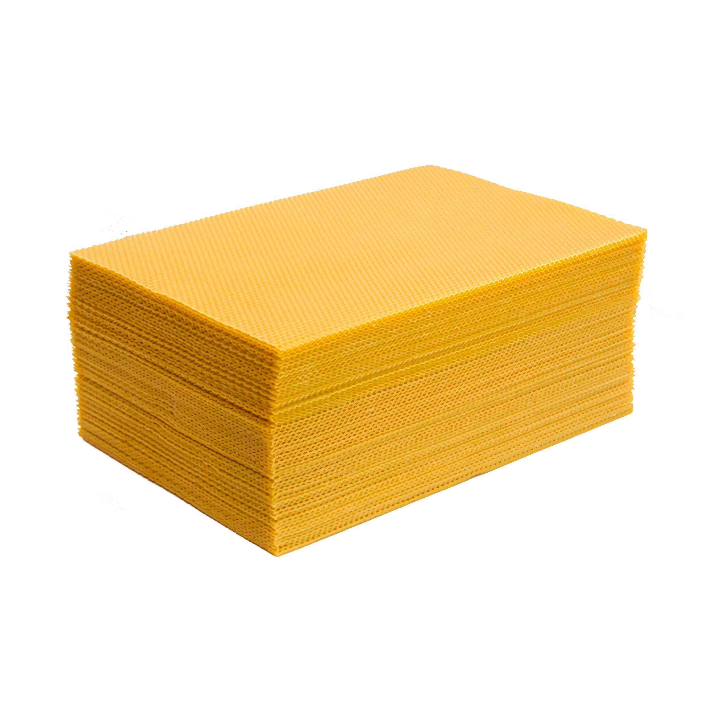 "Вощина ""Русское пчеловодство"" (Дадан, максимум, пачка 1 кг) фото"
