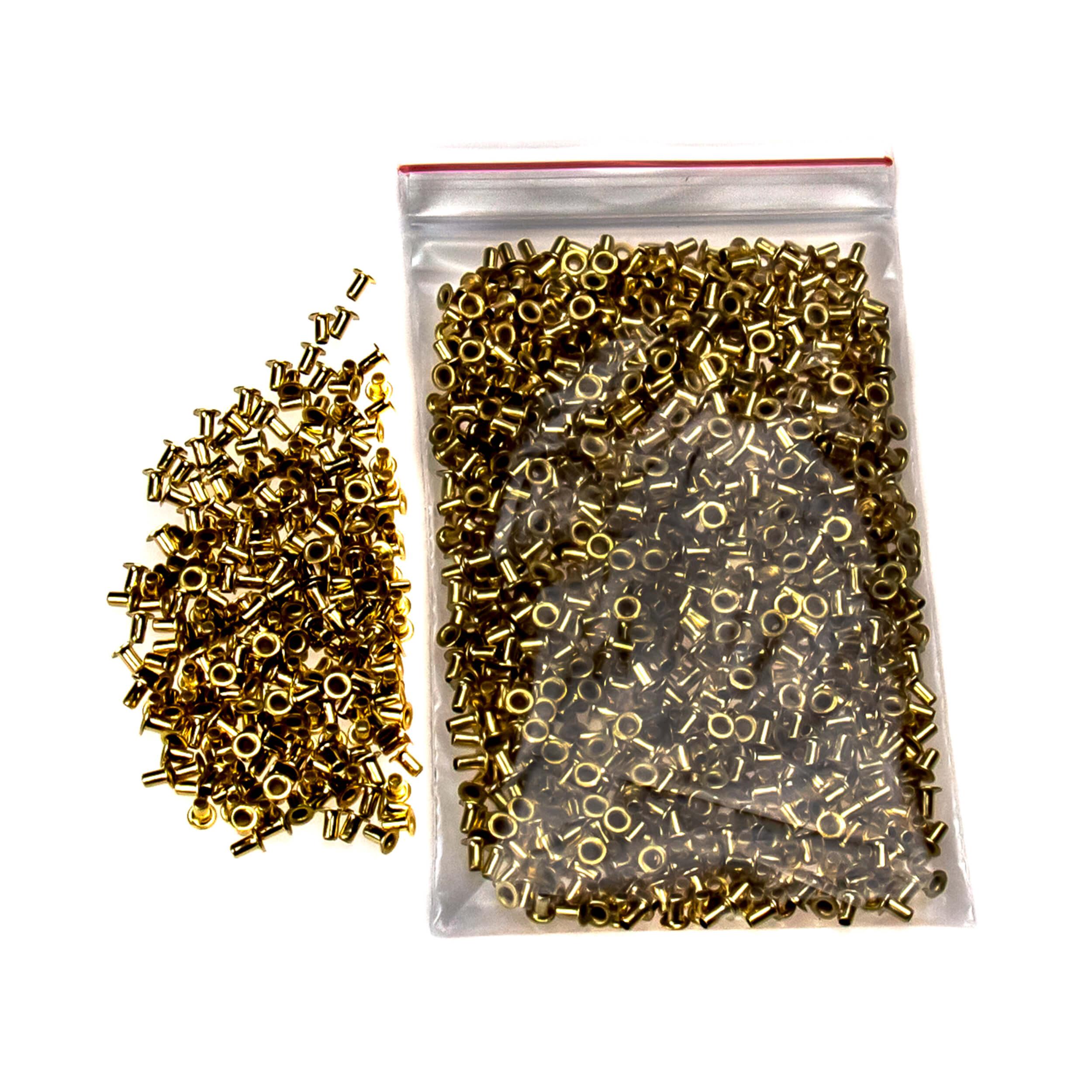 Втулки D2.5 для боковых планок рамок (100 грамм, медь) фото