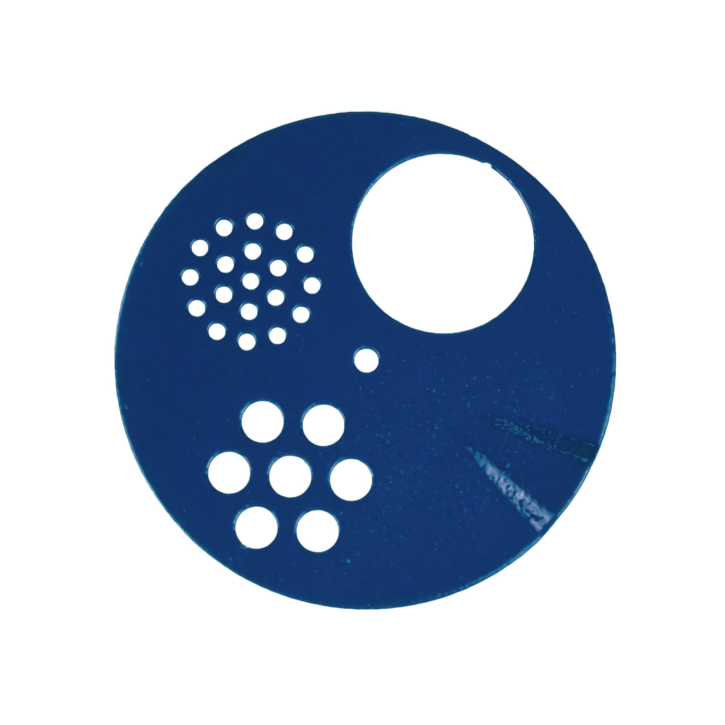 Задвижка цветная для круглого летка (4 положений) фото