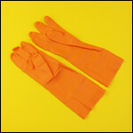 "Перчатки пчеловода ""LGF Orange"" (9 размер) фото"