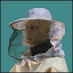 Сетка лицевая полуоткрытая с резинкой (ситец) фото