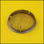 Колпачок D-100 круглый для матки (оцинковка) фото