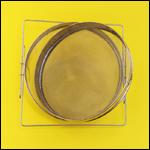 Фильтр для меда (D-300 мм, полукруг, нержавейка) фото