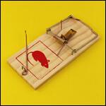 """Мышеловка """"Mouse Trap"""" (дерево) фото"""
