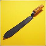 Нож пасечный 200 мм широкий (сталь) фото